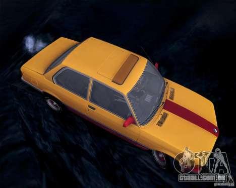 BMW E21 para GTA San Andreas vista interior