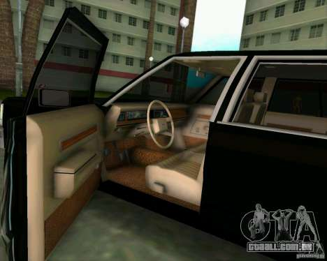 Ford Crown Victora LTD 1985 para GTA Vice City vista traseira