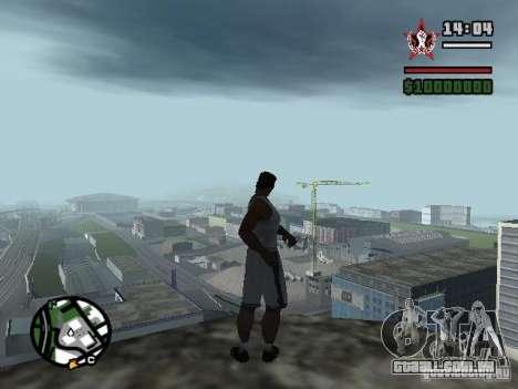 SALVAR em qualquer lugar para GTA San Andreas quinto tela