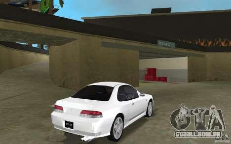 Honda Prelude 2.2i para GTA Vice City vista traseira