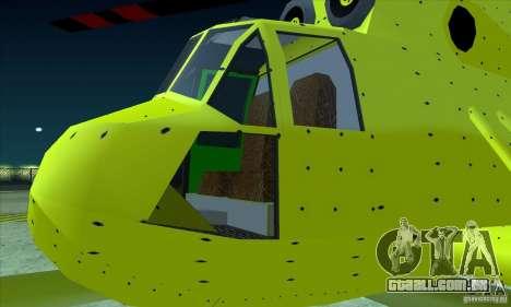 Leviatã avançado para GTA San Andreas vista direita