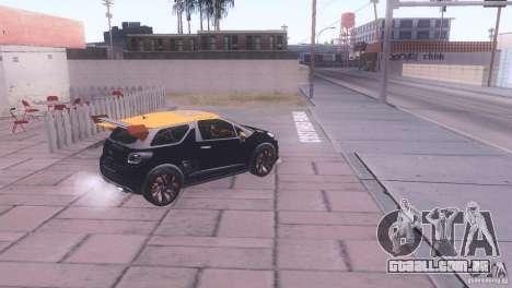 Citroen DS3 Tuning para GTA San Andreas traseira esquerda vista