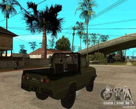Jaguar UAZ-3907 para GTA San Andreas