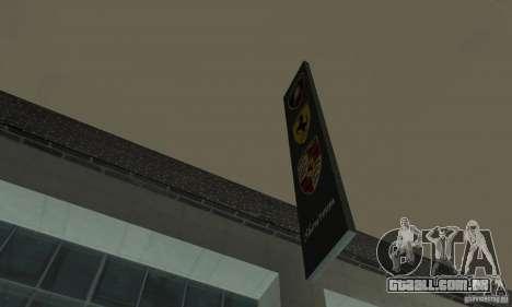 Ferrari, Lamborghini, Porsche Car Showroom para GTA San Andreas