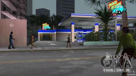 Aral Tankstelle Mod para GTA Vice City por diante tela