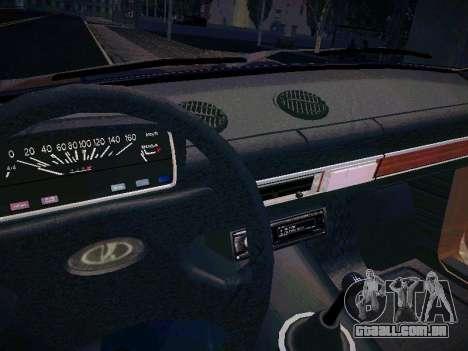 VAZ 21011 para vista lateral GTA San Andreas