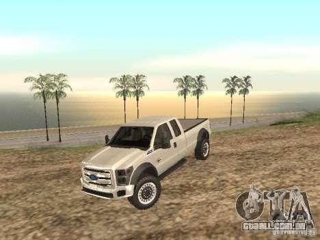 Ford Super Duty F-550 para GTA San Andreas