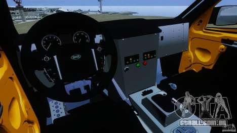 Bowler EXR S 2012 para GTA 4 vista de volta