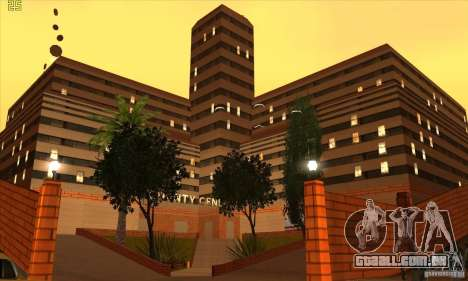 O novo hospital em HP para GTA San Andreas