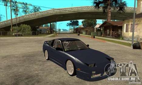 Nissan 180SX Turbo JDM para GTA San Andreas vista traseira