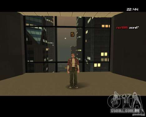 Change Skin para GTA San Andreas terceira tela