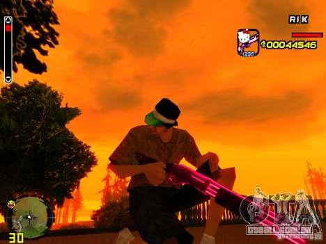 Hello Kitty weapon para GTA San Andreas terceira tela