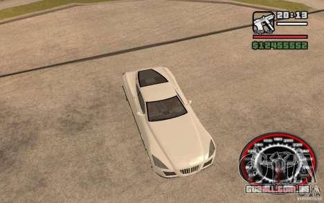 Maybach Exelero para GTA San Andreas vista traseira