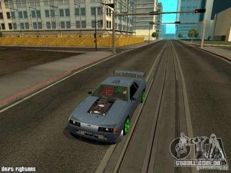 Elegy Dark Evolution Drift Final para GTA San Andreas esquerda vista