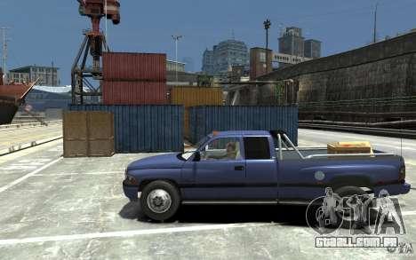Dodge Ram 3500 1994 para GTA 4 esquerda vista
