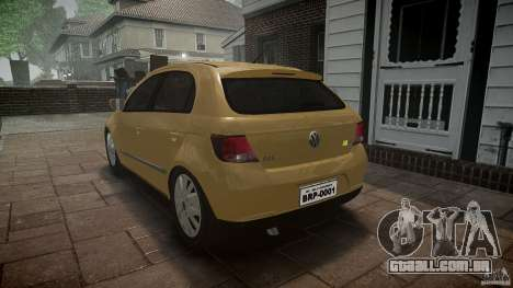 Volkswagen Gol 1.6 Power 2009 para GTA 4 vista interior