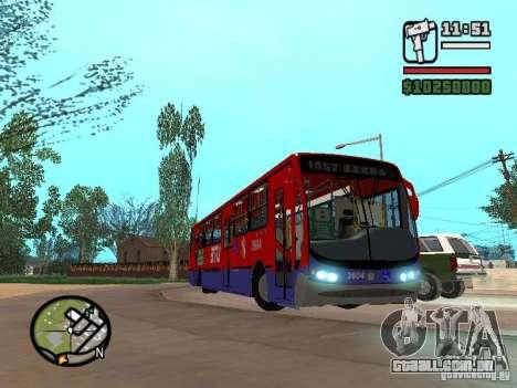 Busscar Urbanuss Pluss VW 17-230 EOD Alongado para GTA San Andreas vista interior