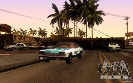 Dodge Monaco para GTA San Andreas vista direita