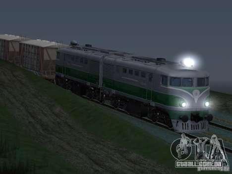 TE2-414 para GTA San Andreas vista interior