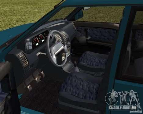 VAZ 21099 Suite para GTA San Andreas vista traseira