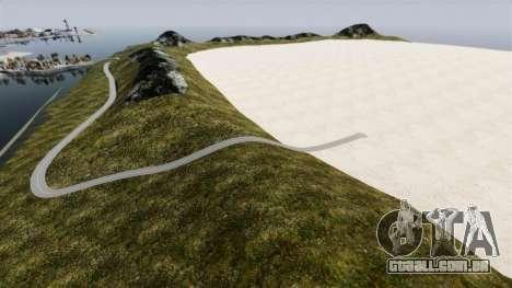 Planícies de sal para GTA 4 terceira tela