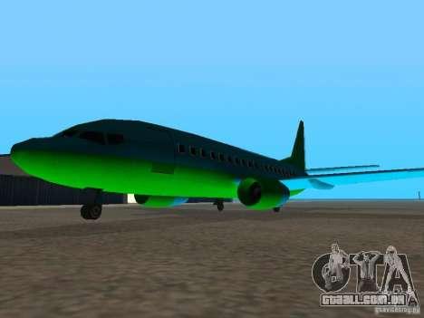 AT-400 em todos os aeroportos para GTA San Andreas terceira tela