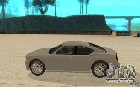 FIB Buffalo no GTA 4 para GTA San Andreas esquerda vista