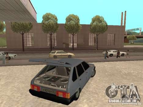 VAZ 2109 para GTA San Andreas vista direita