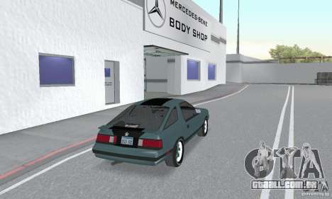 Dodge Daytona Turbo CZ 1986 para GTA San Andreas esquerda vista