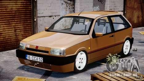 Fiat Tipo 1990 para GTA 4 vista de volta
