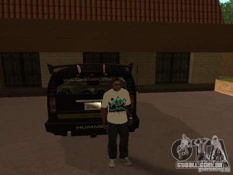 Jersey Adidas para GTA San Andreas terceira tela
