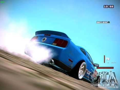 Ford Shelby GT500 Falken Tire Justin Pawlak 2012 para GTA San Andreas esquerda vista
