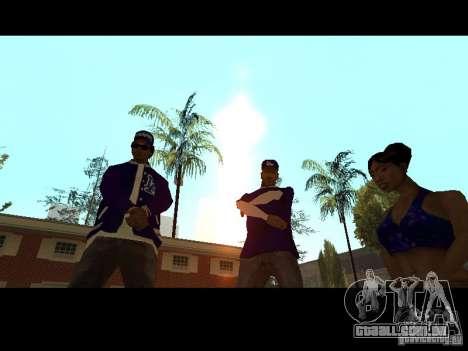 Piru Street Crips para GTA San Andreas oitavo tela