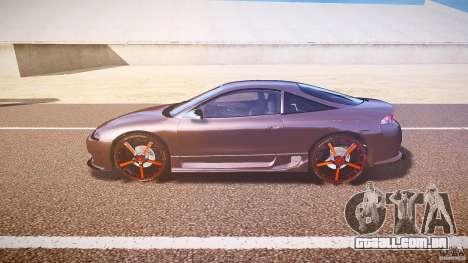 Mitsubishi Eclipse Tuning 1999 para GTA 4 esquerda vista
