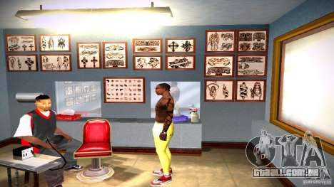 Três nova tatuagem para GTA San Andreas décima primeira imagem de tela