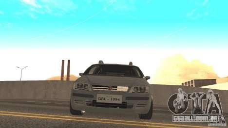 Fiat Idea HLX para GTA San Andreas traseira esquerda vista