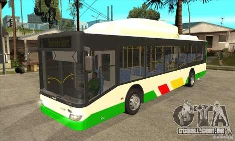 Mercedes Benz MAN Lions City CNG para GTA San Andreas