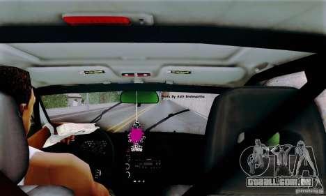 Honda Civic Si Sporty para GTA San Andreas vista traseira