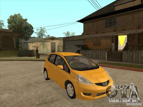 Honda Jazz (Fit) para GTA San Andreas vista traseira