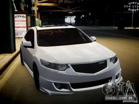 Honda Accord Mugen para GTA 4 vista de volta