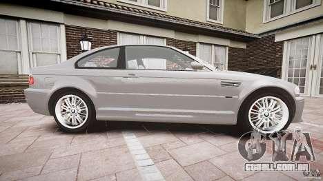 BMW M3 e46 v1.1 para GTA 4 vista interior