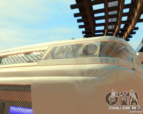 VAZ-2112 Tuning para GTA 4 vista de volta