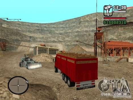 Ford Cargo 3227 para GTA San Andreas esquerda vista