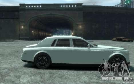Rolls-Royce Phantom para GTA 4 vista de volta