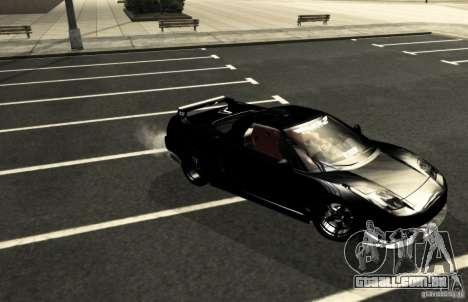 Acura NSX Tuned para GTA San Andreas vista superior