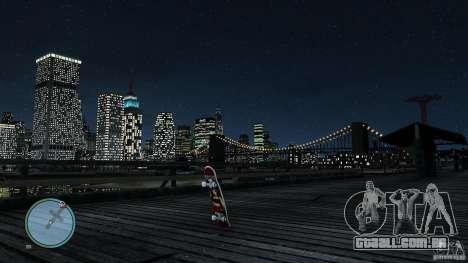 Skate # 2 para GTA 4 vista direita