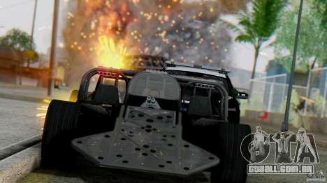 SA Beautiful Realistic Graphics 1.7 BETA para GTA San Andreas décimo tela