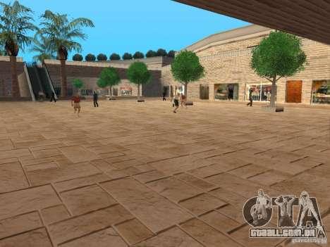 Novo centro comercial de texturas para GTA San Andreas segunda tela