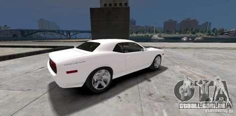 Dodge Challenger 2006 para GTA 4 vista direita