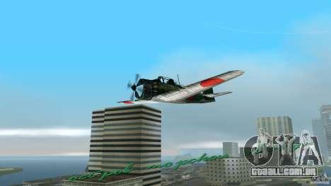 Zero Fighter Plane para GTA Vice City